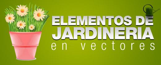 Elementos de jardiner a en vectores active recursos for Elementos de jardineria
